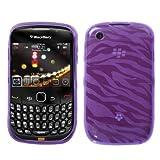 MyBat BlackBerry Curve 8520 / 8530 / 9300 / 9330 Candy Skin Cover - Purple  ....