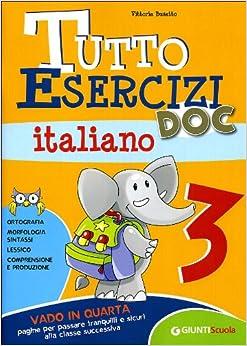 Tutto esercizi doc italiano per la scuola for Libri in italiano