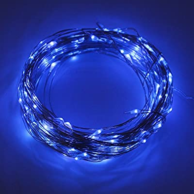 150 Outdoor Christmas Fairy Solar Lights -72ft with Flexible Copper Wire.