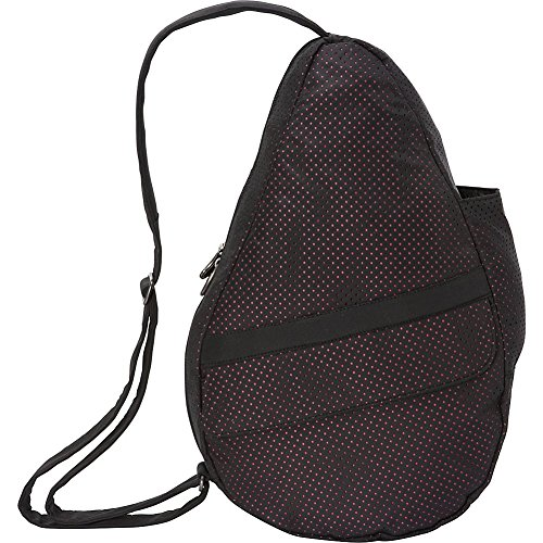 ameribag-healthy-back-bag-small-perforated-microfiber-black-with-pink-lining