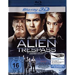 Alien Trespass 3d [Blu-ray] [Import allemand]