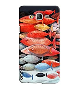 Omnam Group Of Fishes Printed Designer Back Cover Case For Samsung Galaxy On 5