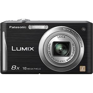 松下Panasonic DMC-FH24K 16.1MP黑色数码相机