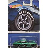 Aston Martin HOT WHEELS 2015 REAL RIDERS HERITAGE #15/18 1963 DB5 GREEN