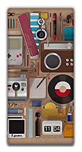 The Racoon Grip Objects hard plastic printed back case / cover for Sony Xperia P