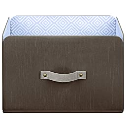 SOFI by Bankers Box, Brix Bin, Closet Storage, Foldable Storage Cube Basket
