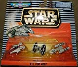 Star Wars Micro Machines Series XII - Battle Damaged A-Wing Fighter, TIE Fighter, and Y-Wing Fighter