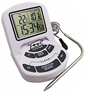#1 Breakthrough Ultra-fast Read Digital Meat Thermometer SALE. With Accurate, Instant Temperature Display, Pro Grill Probe, Splash-proof Technology, It's Perfect for Grill or Kitchen Cooking.