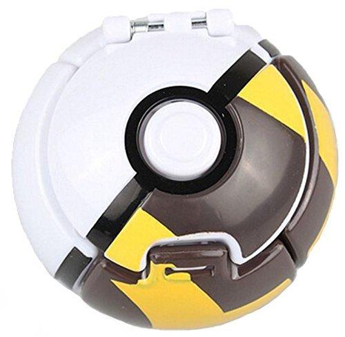 [Pokemon Throw N Pop Poke Ball 2 Inch Action Figure With Pikachu random Poke Ball Gift] (Snorlax Costume Diy)