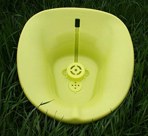 携帯ビデより軟らかいトイレの水座浴用器、、お尻を、産後の妊婦の座浴器