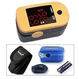 """Fingerpulsoximeter MD300C1 mit LED-Anzeige *Farbe: gelbvon """"PULOX"""""""