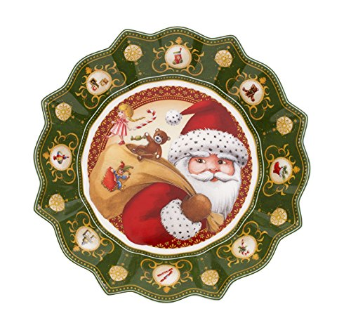 Villeroy & Boch Toy's Fantasy 9-1/2-Inch Large Bowl - Santa's Gifts