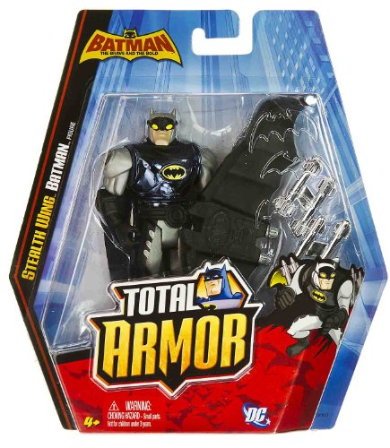 "Stealth Wing Batman ~5"" Figure: Batman The Brave and the Bold Total Armor Series at Gotham City Store"