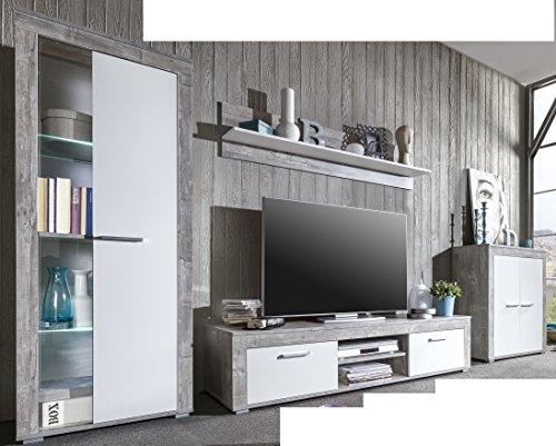 44352942-made-in-BRD-Serie-AWBW-schne-Anbauwand-weiss-grau-gescheckt-dekor-Wohnzimmerschrank-TV-Wohnwand-Wohnschrank