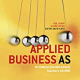 img - for Applied Business Studies AS for Edexcel: Teacher's CD-ROM: Double Award book / textbook / text book