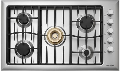Fisher Paykel Cooktops 36 Inch Natural Gas Cooktop, Stainless Steel – CG365DWACX1