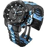 Invicta 15461 Men's Venom Reserve Carbon Fiber Black Dial Two Tone Bracelet Chrono Dive Watch