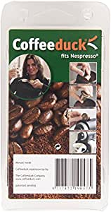 Coffeeduck Capsules Rechargeables pour Toutes les Machines Nespresso