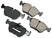 Akebono Eur725 Euro Ultra-premium Ceramic Front Brake Pad Set For 1997-2003 Bmw 525 528 by EURO