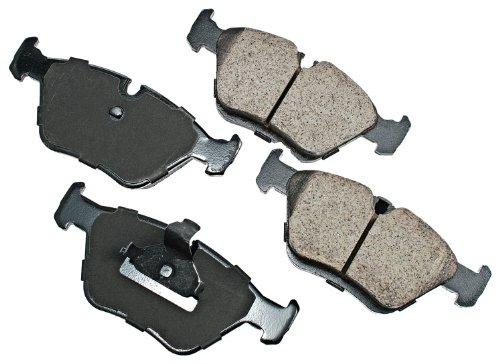 Akebono Eur725 Euro Ultra-Premium Ceramic Front Brake Pad Set For 1997-2003 Bmw 525, 528