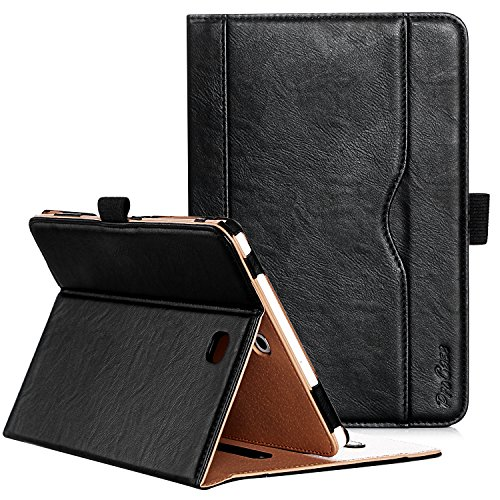ProCase Samsung Galaxy Tab S2 8.0 Case - Leather Stand Folio Case Cover for 2015 Galaxy Tab S2 Tablet (8.0 inch, SM-T710 T715 T713) -Black