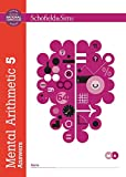 Mental Arithmetic Answer Book 5 (Book 6 of 7): Key Stage 2, Years 3 - 6