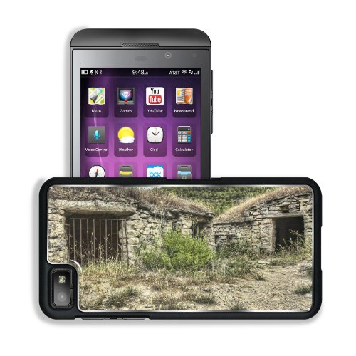 Stone Cellar Metal Bars Scenery Blackberry Z10 Snap Cover Premium Aluminium Design Back Plate Case Customized Made To Order Support Ready 5 3/16 Inch (131Mm) X 2 5/8 Inch (67Mm) X 4/8 Inch (13Mm) Msd Blackberry Z 10 Professional Metal Cases Blackberry_Z10 front-612967