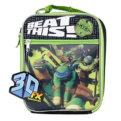 1 X Teenage Mutant Ninja Turtles - Beat This 3D Insulated Lunch Box