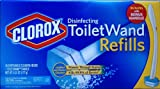 Clorox Toilet Wand Disinfecting Refills, 36 Ct Plus Bonus Handle