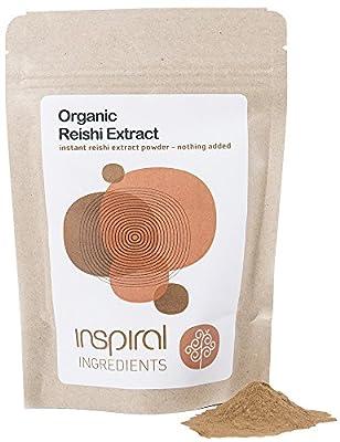inSpiral Organic Reishi Mushroom Extract 75 g