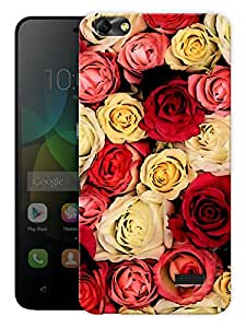 """Humor Gang Multi Colored Roses Love Printed Designer Mobile Back Cover For """"Huawei Honor 4C"""" (3D, Matte, Premium Quality Snap On Case)"""