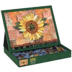 Sunflower 500 Piece Jigsaw Puzzle