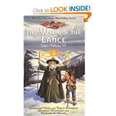 THE WAR OF THE LANCE (Dragonlance: Tales) by Margaret Weis
