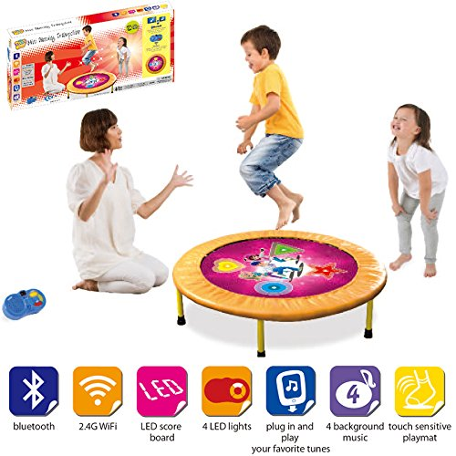 vivoc-kids-dancing-trampoline-game-with-sounds-and-music-the-perfect-workout-mini-trampoline-mat-for