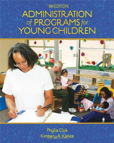 Administration of Programs for Young Children (Available...