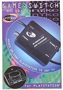 Buy Amazon.com: RF Adapter/Game Switch/ Modulator for PlayStation 1: Video