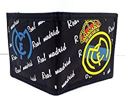 Football Cup Champions League Wallet For Kids, Adults Nylon Micro Fiber Wallet (Real Madrid)