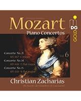 Piano Concertos Vol. 6: Concertos N° 21, 14 & 15