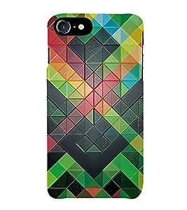 HiFi Designer Phone Back Case Cover Apple iPhone 7 :: Apple iPhone7 ( Colorful Pattern Design )