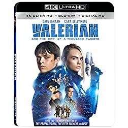 Valerian & City 1,000 Planets [4K Ultra HD + Blu-ray]