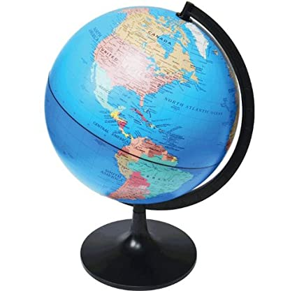 Elenco EDU36899A Desktop Political Globe, 11-Inch