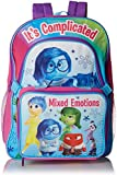 Disney Girl's Inside Out Deluxe Backpack with Lunch Kit