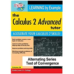 Calculus 2 Advanced Tutor: Alternating Series Test of Convergence