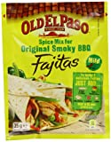 Old El Paso Spice Mix for Original Smoky BBQ Fajitas 35 g (Pack of 24)