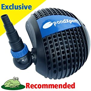 Pondpush 6000 Garden Pond Pump For Pond Filters Waterfalls Patio Lawn Garden