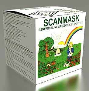 Dr. Pye's Scanmask Live Beneficial Nematodes - Kills Over 230 Bugs
