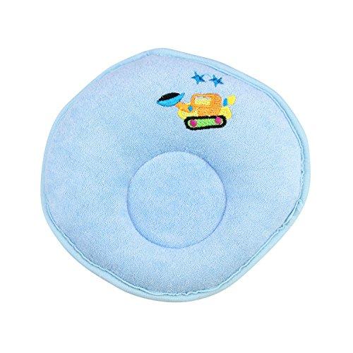 H:oter Baby, Kleinkind Kissen Prevent FlachkopfstützkissenAnti Roll Kissen, Preis / Stück - Blue