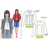 Style Arc Sewing Pattern - Stacie Jean Jacket (Sizes 04-16) - Click for Other Sizes Available (Tamaño: Sizes 04-16)