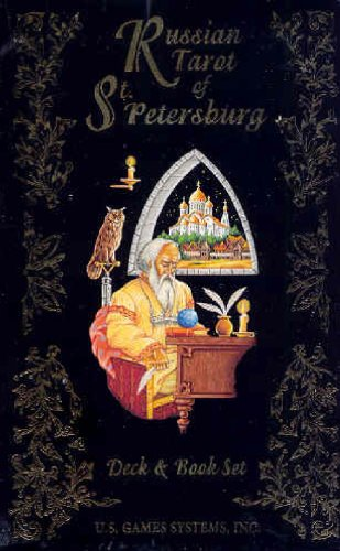 Russian Tarot of St. Petersburg Deck [With Book] (The Quest Tarot Deck compare prices)