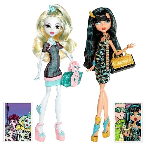 y mattel  monster	high cleo the